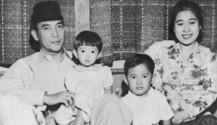 Soekarno dan Fatmawati.