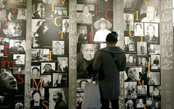 Foto-foto korban kekjaman Jepang.