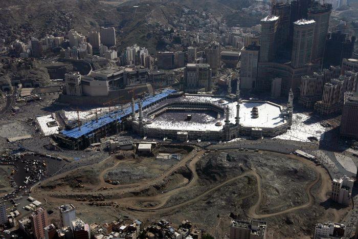Foto masjidil haram dari masa ke masa