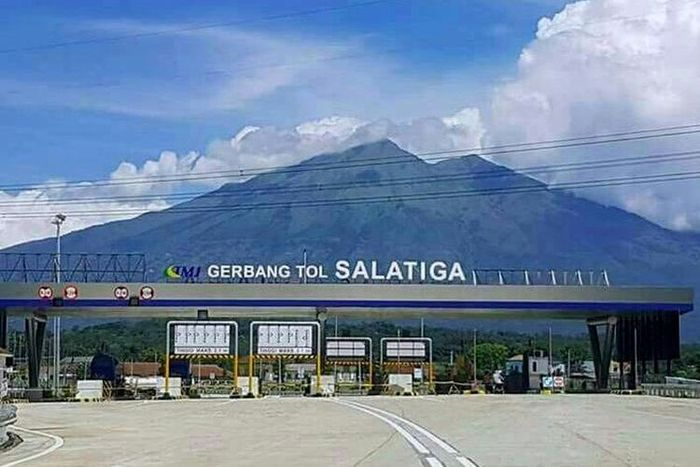 Gerbang Tol Salatiga, Jawa Tengah