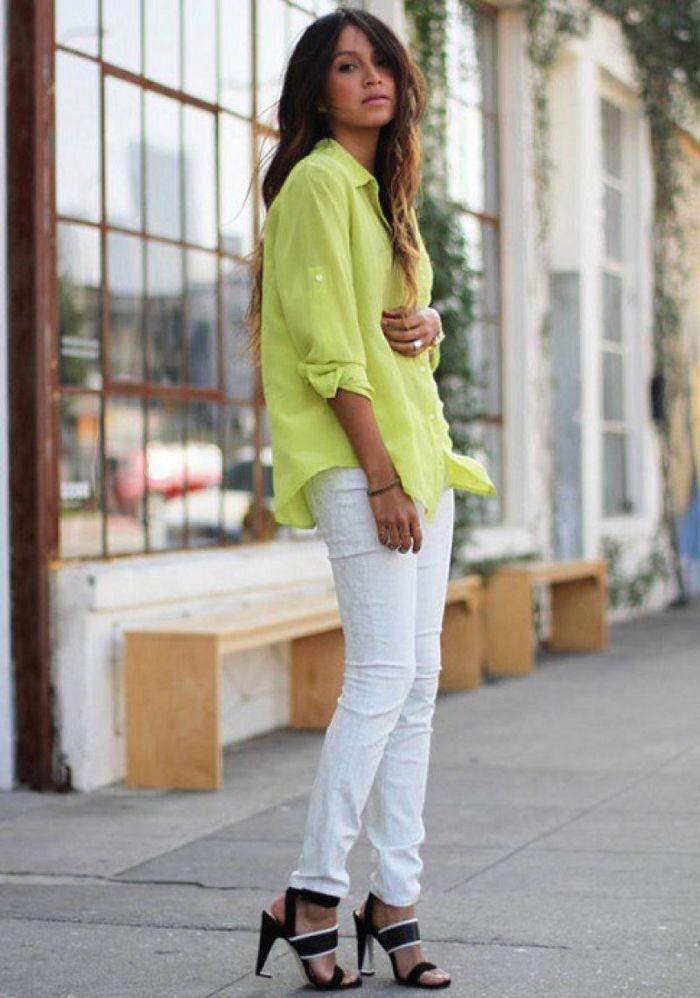 Jeans putih