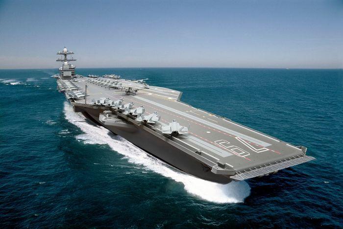 USS John F. Kennedy.