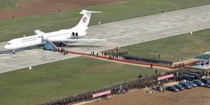 Pesawat Kepresidenan Korea Utara