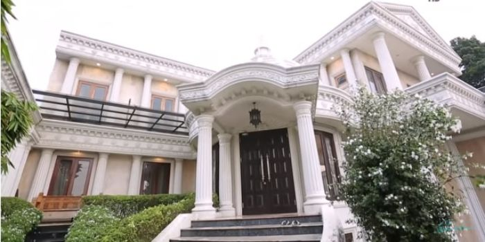 Rumah Anang dan Ashanty bak istana