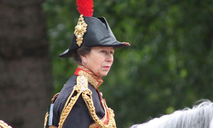 Putri Anne atau Princess Royal.