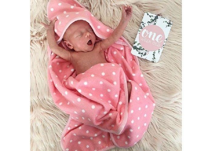 Baby Alaia berumur 1 minggu