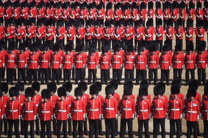 1.400 pengawal dan kavaleri