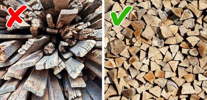 Gunakan kayu busuk