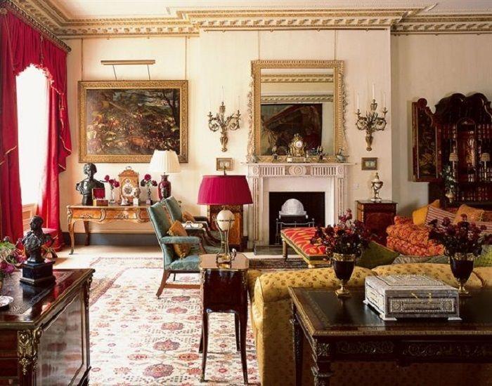 Salah satu ruangan di Clarence House