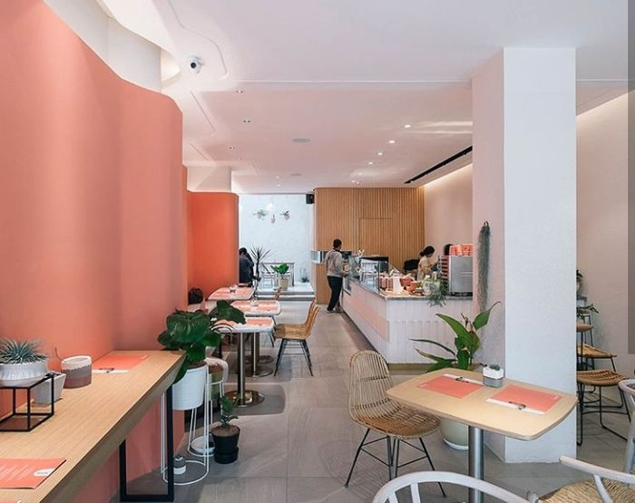 kafe pink di Jakarta | instagram/manualjakarta