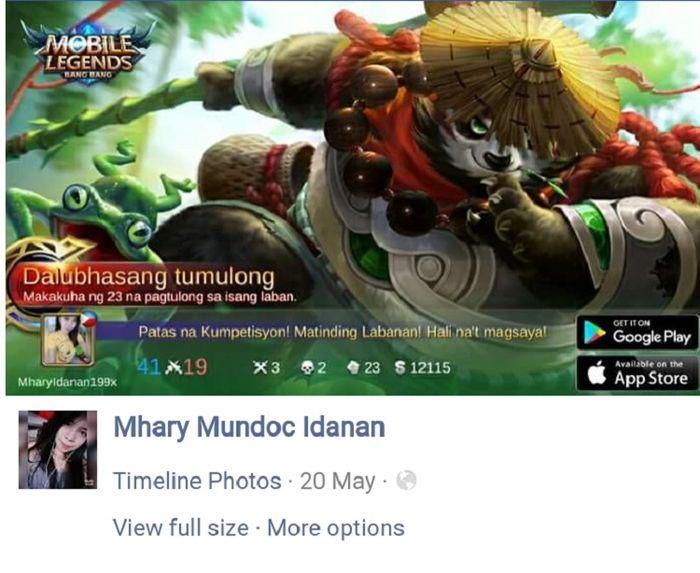 Unggahan Facebook