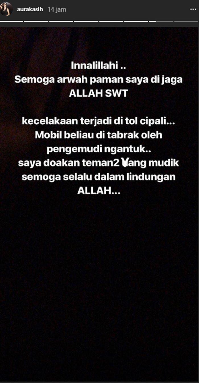 Instagram Story Aura Kasih