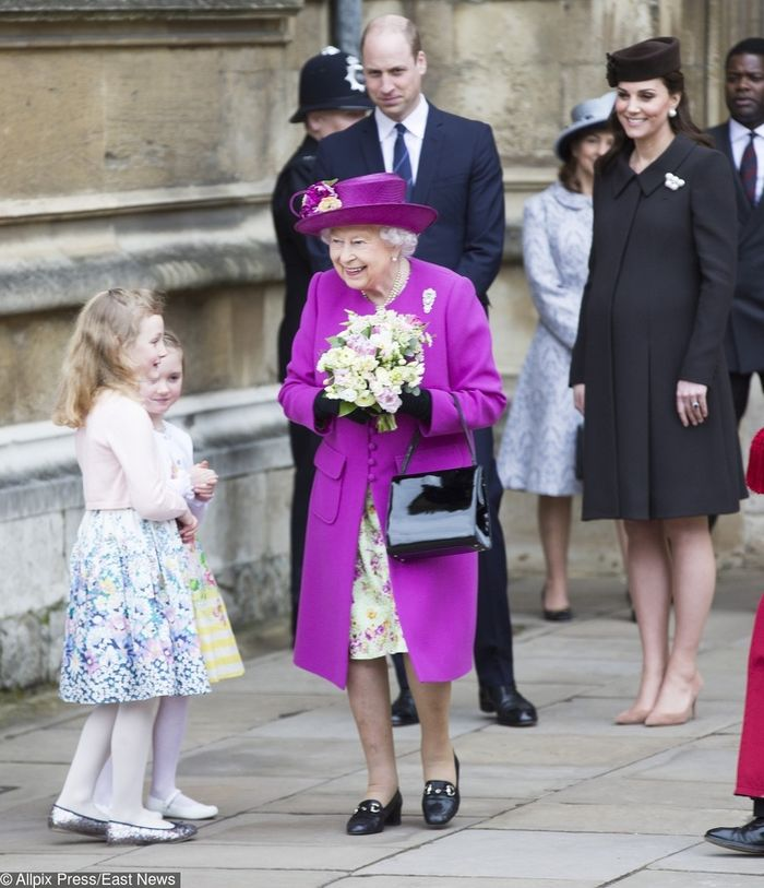 Foto keluarga kerajaan Inggris