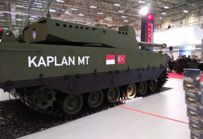 Tank Kaplan MT produksi PT Pindad