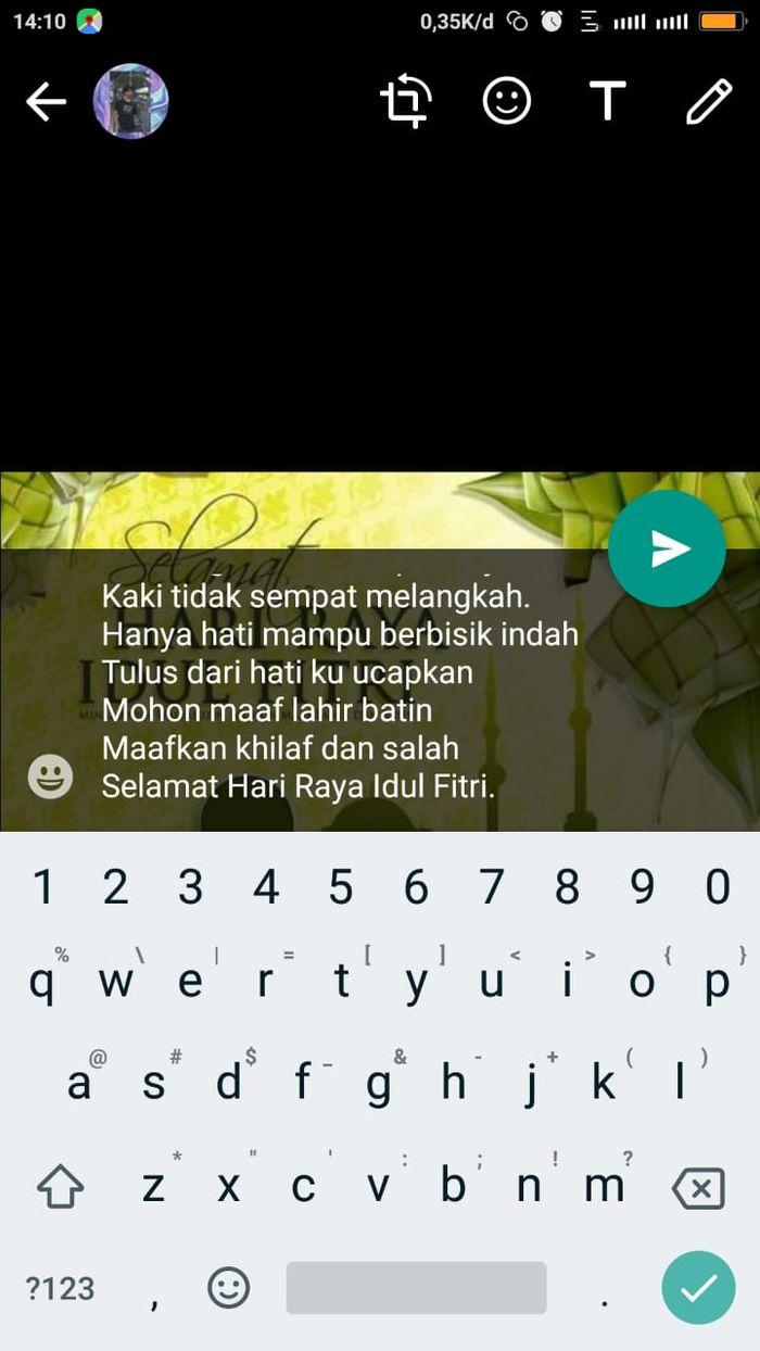 Cara membuat ucapan unik di pesan WhatsApp