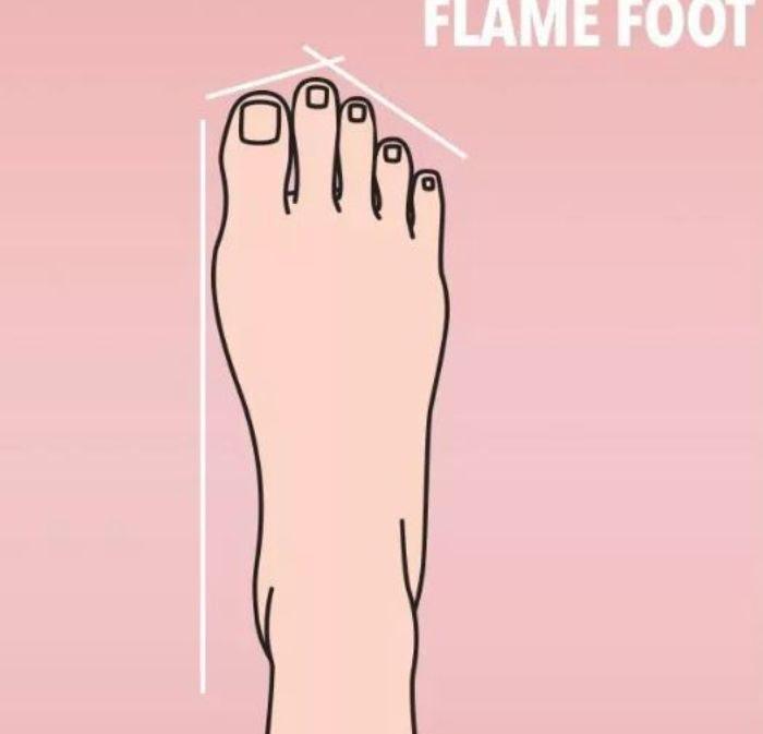 Flame foot