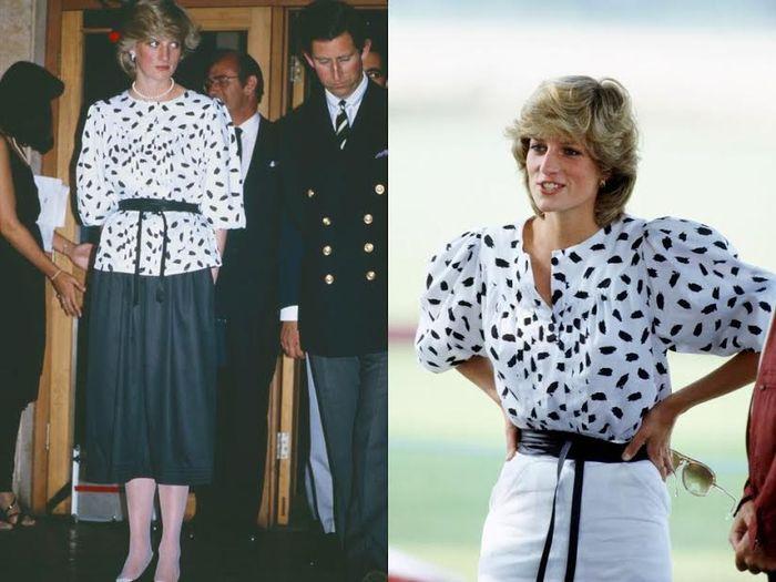 Fashion Putri Diana | harpersbazaar.com
