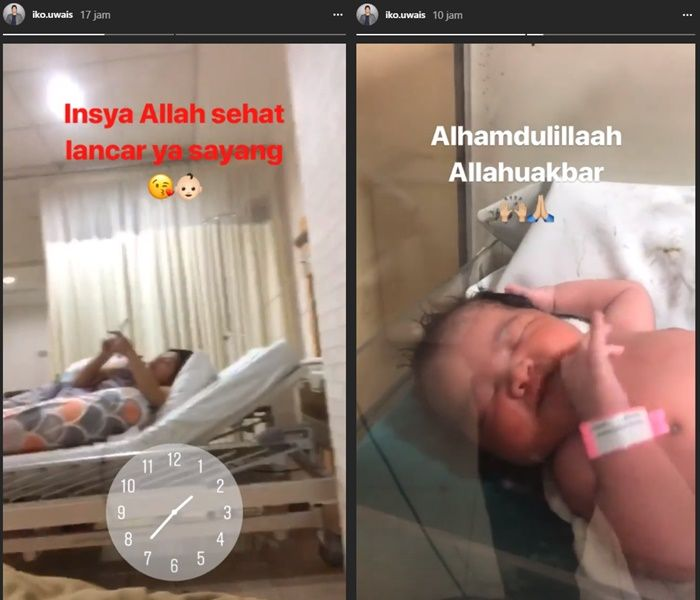 Audy dan Iko Uwais dikaruniai anak ke-2