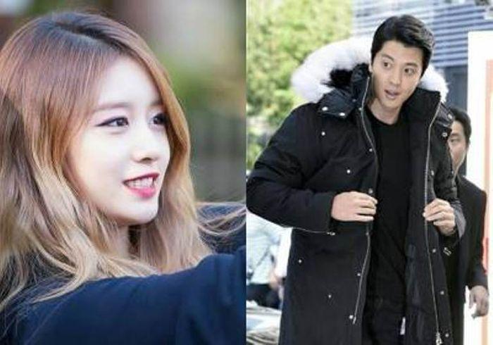 Lee Dong Gun dan Jiyeon T-ara