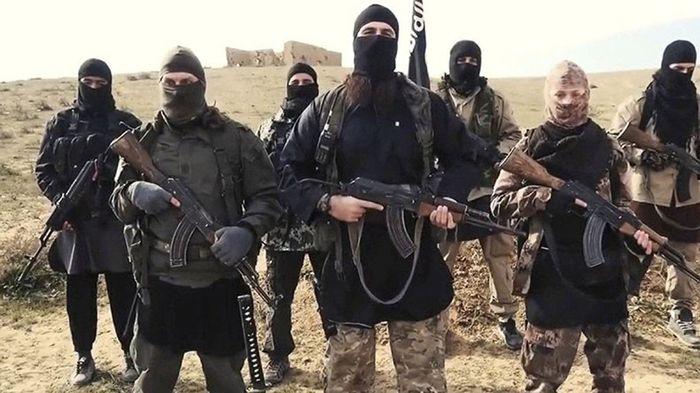 Para pejuang ISIS.