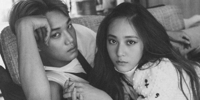 Kai EXO dan Krystal f(x)