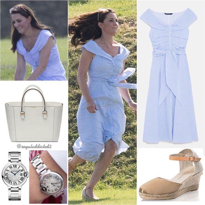 Kate Middleton tampak cantik dan anggun mengenakan dress yang sama persis saat menghadiri acara amal Kerajaan Inggris