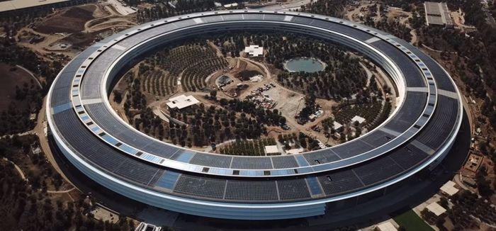 Ilustrasi Apple Campus