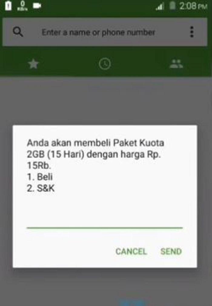 Kode dial kuota telkomsel