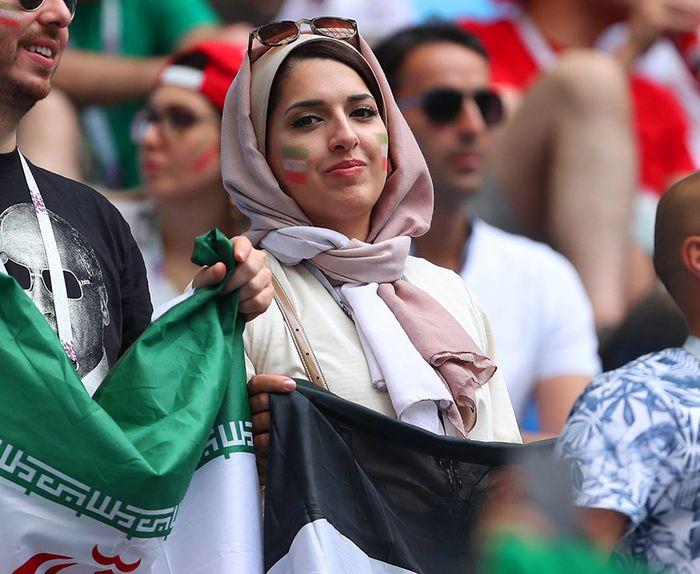 Foto-foto wanita iran di piala dunia 2018