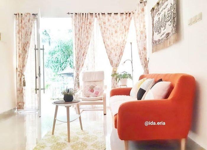 ruang tamu di rumah @ida.eria | dok. instagram/ida.eria