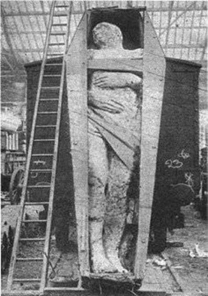Raksasa Irlandia dengan tinggi seberat 2 ton dengan tinggi 3,7 meter