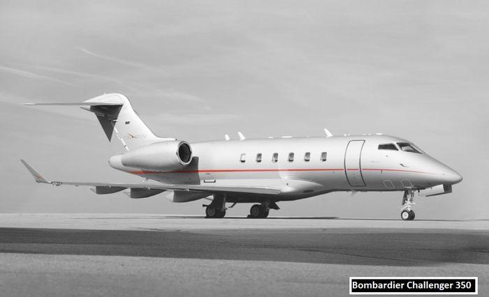 David Beckham: Bombardier Challenger 350 ($ 26,6 juta/Rp377 M)