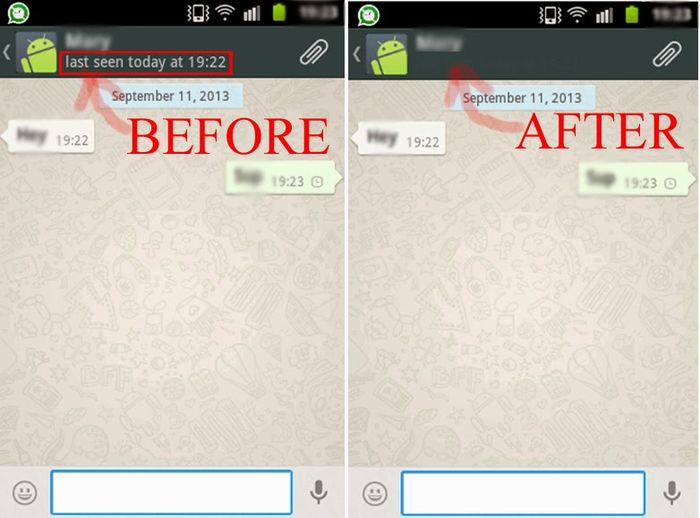 Cara membuat whatsapp seolah tidak aktif