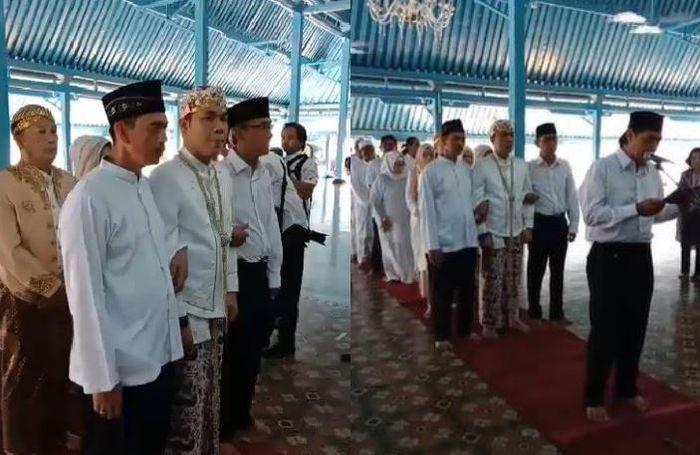 Rizal Armada akan menggelar akad nikah dengan Monica Imas di Masid Agung Keraton Surakarta, Solo, Jawa Tengah, Kamis (28/6/2018))
