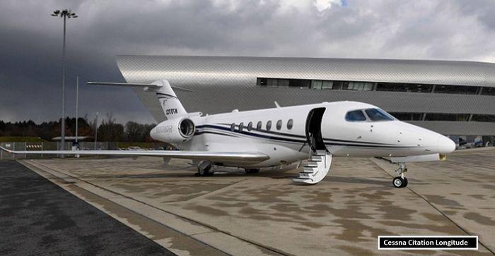 Zlatan Ibrahimovic: Cessna Citation Longitude ($ 27 juta/Rp383 M)