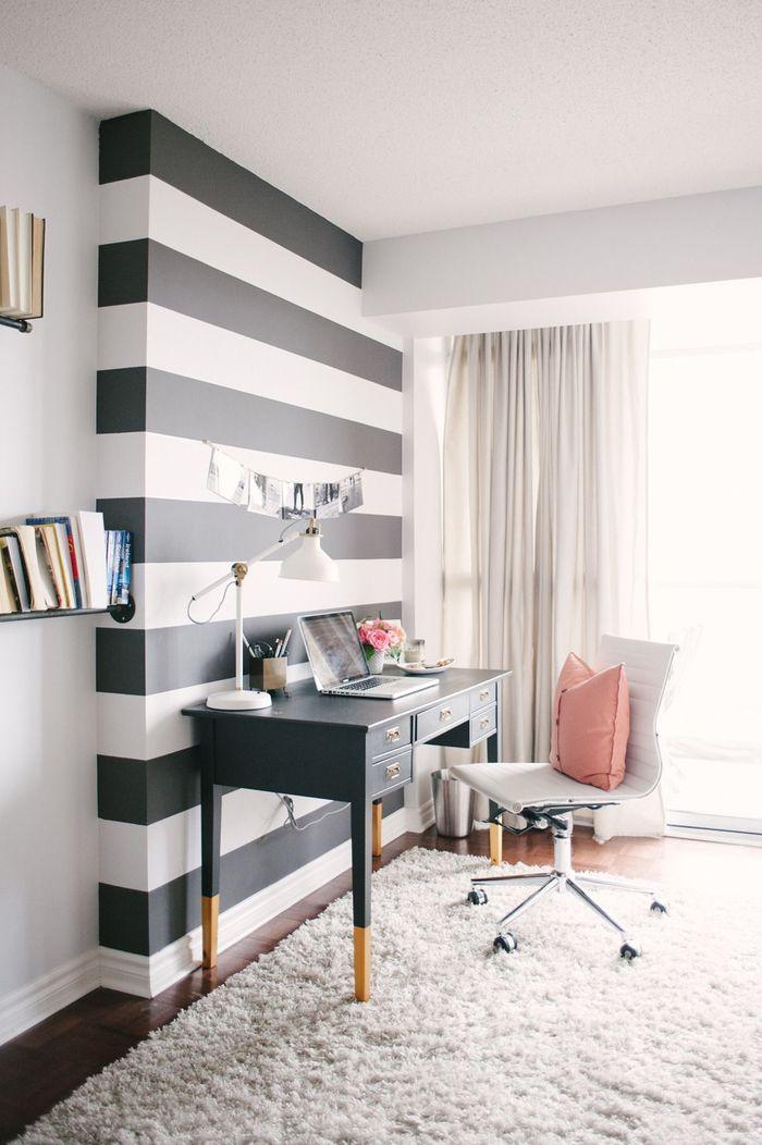 motif stripe dinding | dok. livinator.com