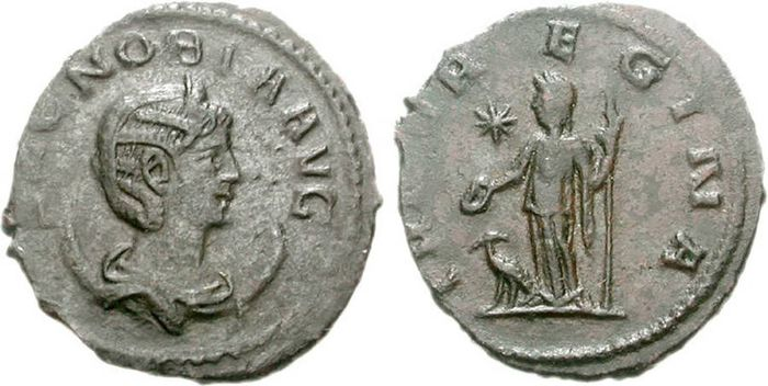 Koin Ratu Zenobia (272 Masehi)