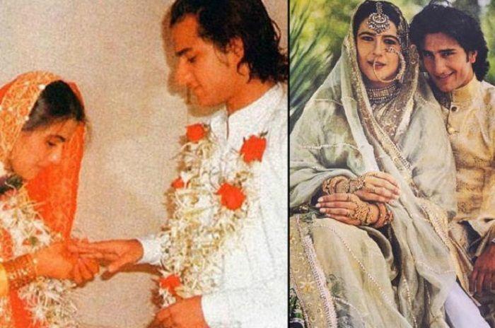 Saif Ali Khan dan Amrita Singh
