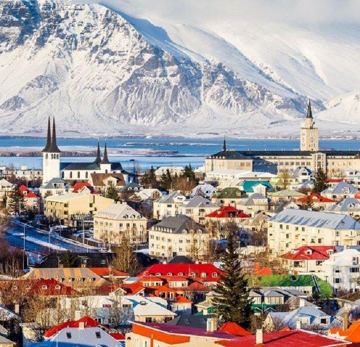 Ibu Kota Negara Islandia,Reykjavik.