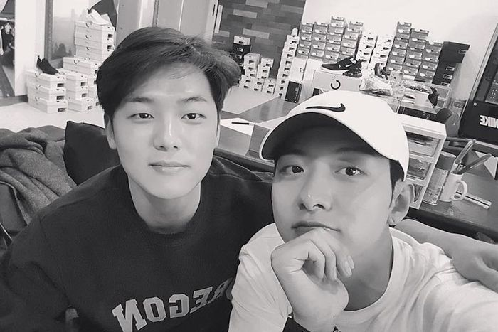Kang Minhyik dan Jungshin 'CNBLUE'