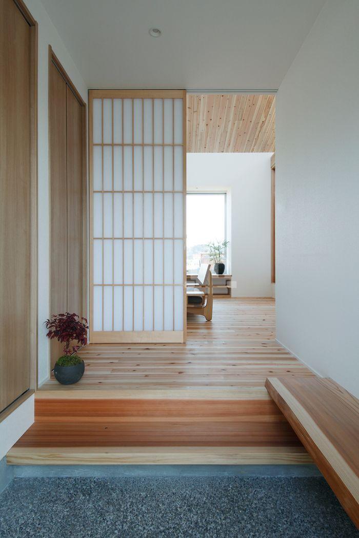 Shoji sebagai pembatas antar ruangan