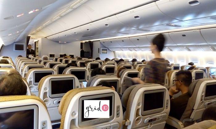 Pelayanan maskapai Singapore Airlines dari Tokyo menuju Jakarta