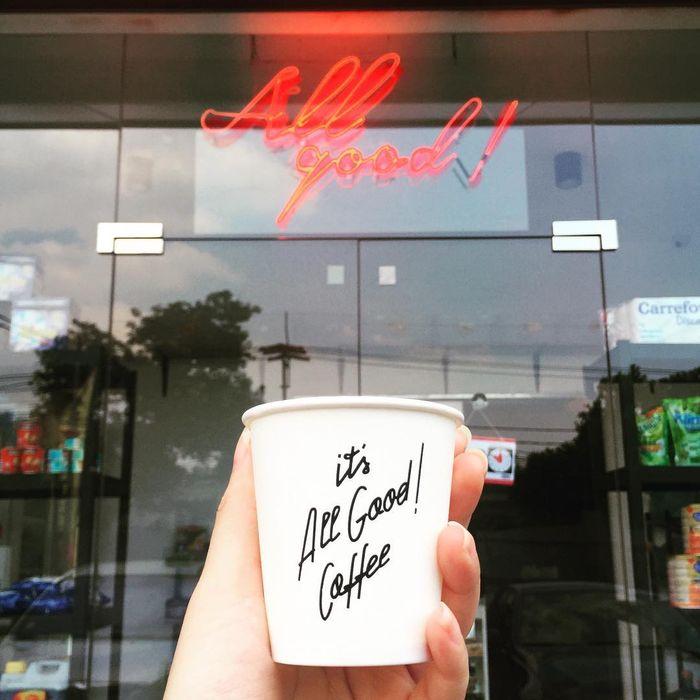 All Good Coffee milik Rio Dewanto