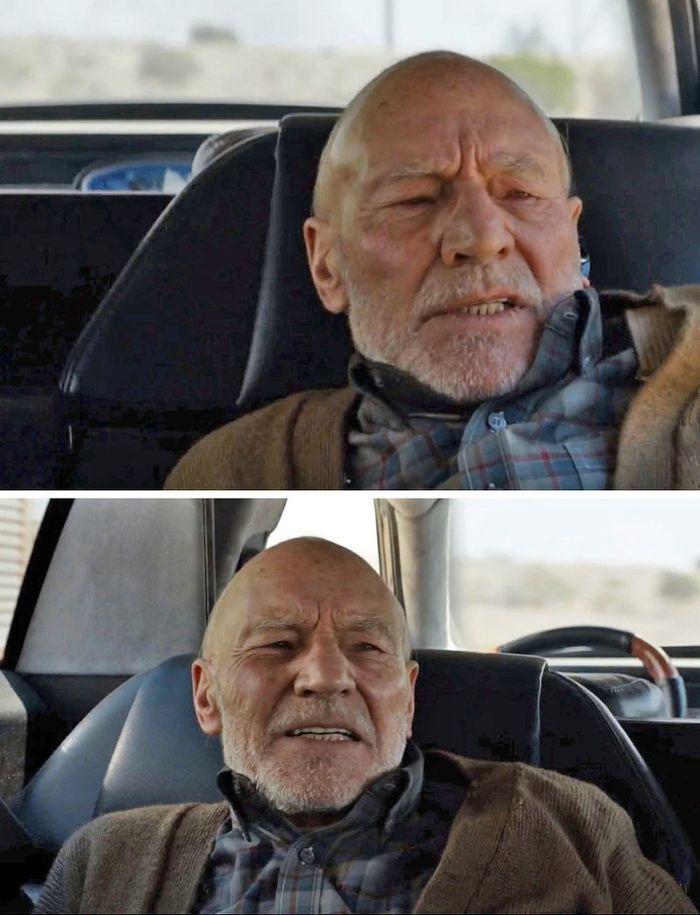 Xavier di film Logan