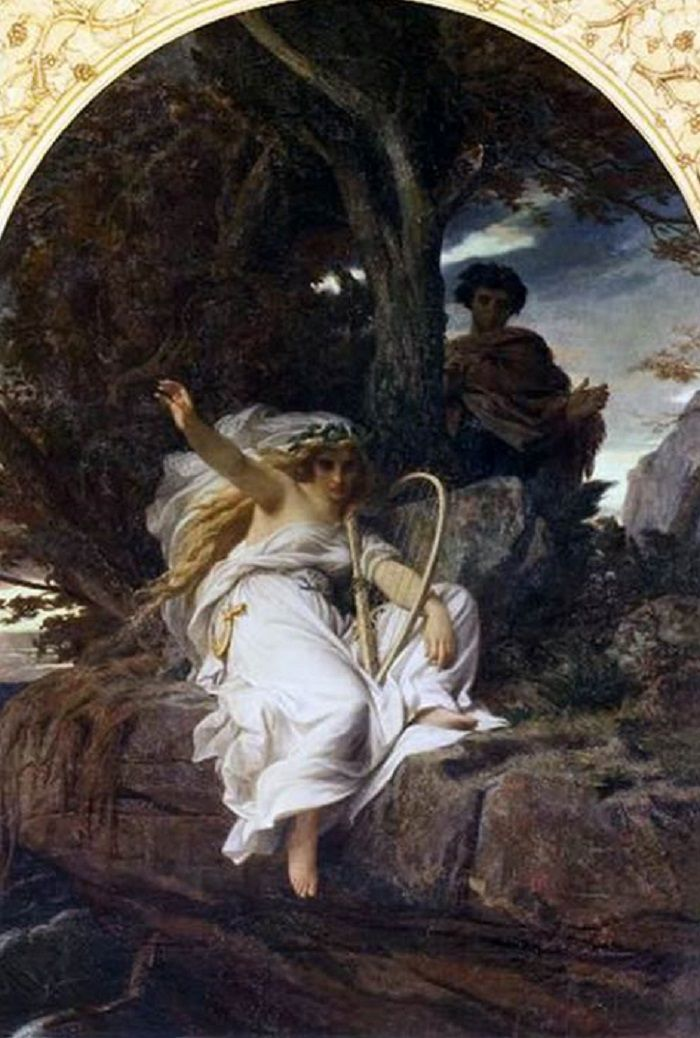 VELEDA ( 1852) ole ALEXANDRE CABANEL