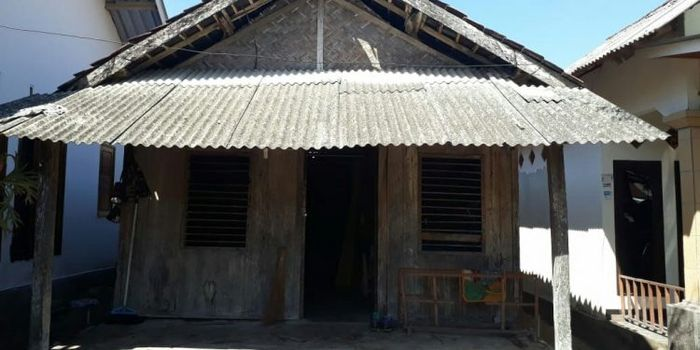 Depan Rumah Lalu Muhammad Zohri di Lombok Utara, Nusa Tenggara Barat