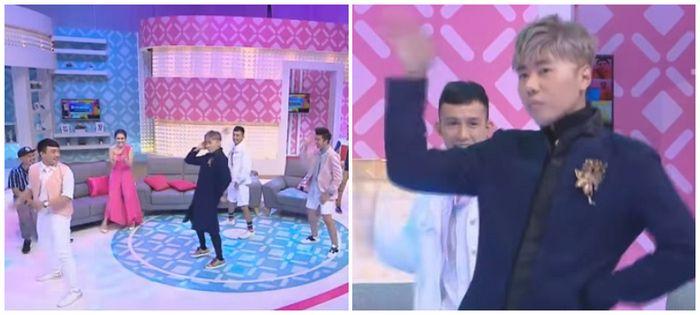 Roy Kiyoshi menari Korea
