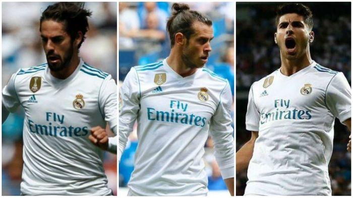 Isco, Bale, Asensio