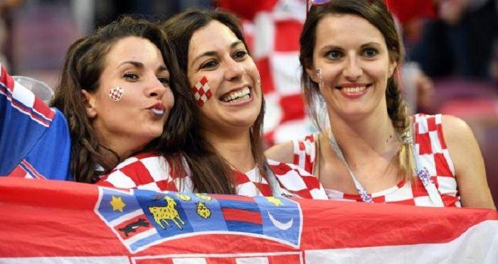 suporter timnas Kroasia