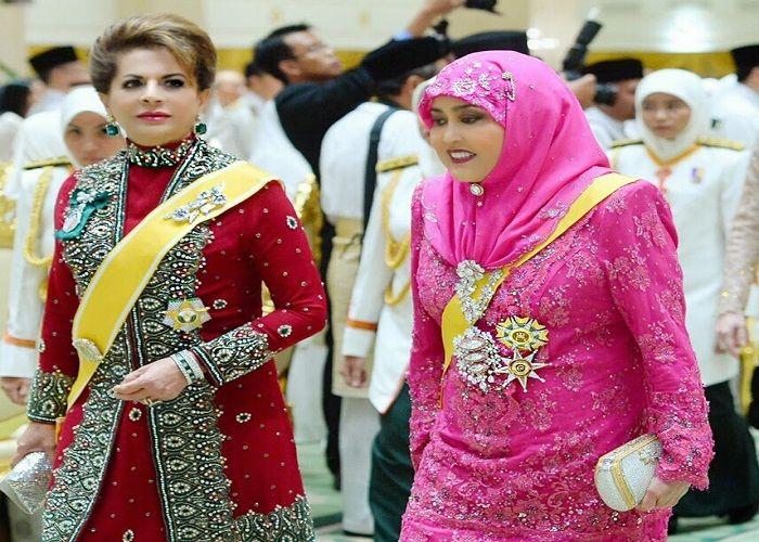 Saleha Mohamed Alam saat berada di acara kenegaraan